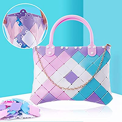 Classic Do not Buy if You do not Want to Make a Unique Bag with Your Princess Challenging Creative Kids Craft kit and Jigsaw/Puzzle - 2019 Top DIY Girls Toys NeWisdom Bag Puzzles/for/Kids