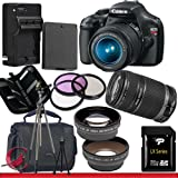 Canon EOS Rebel T3 Digital Camera and 18-55mm and 55-250 IS II Lens Kit Package 6, Best Gadgets