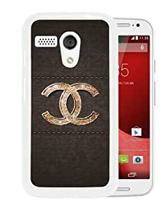 Grace Protactive Chanel 44 White Case Cover for Moto G