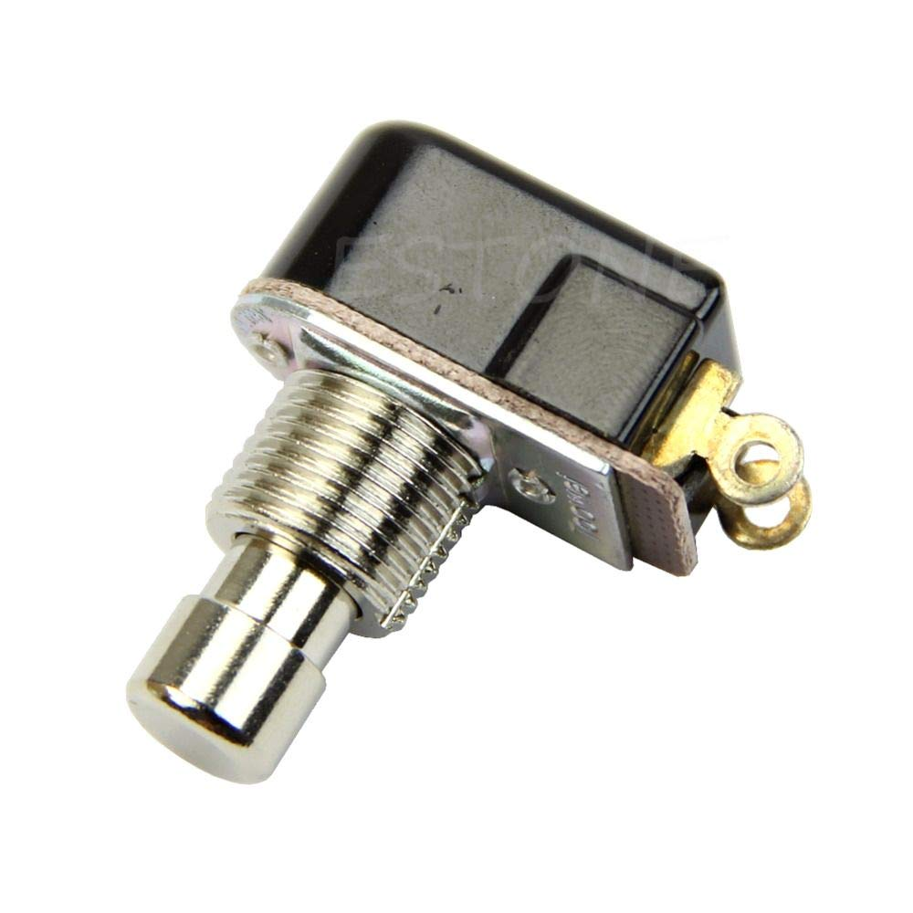 Lighting Accessories 1pc Spst Momentary Soft Touch Push Button Stomp Foot Pedal Electric Guitar Switch