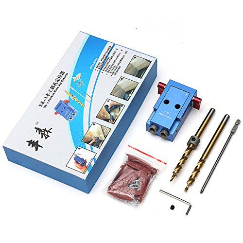 Pocket Hole Jig Kit,Yingte Mini Pocket Hole Jig Kit Woodwork Guide Woodworking Tool by Yingte (Image #2)