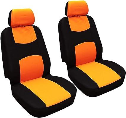 Auto funda del asiento fundas para asientos ya referencias ya referencia set negro-gris para Opel Fiat