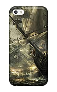 Waterdrop Snap-on Paintings Of Ships Case For Iphone 5/5s