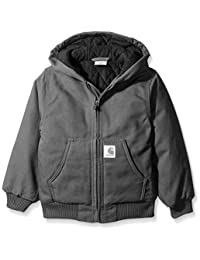 Carhartt boys Active Jacket Flannel Quilt Lined