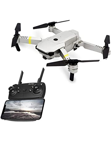 E58 RC Drone Plegable con Cámara 5MP 1080P 120 ° Gran Angular WiFi FPV Quadcopter con