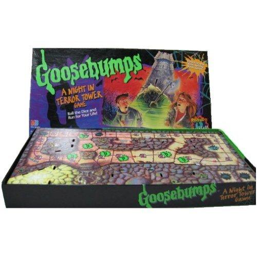 Goosebumps A Night in Terror Tower (Goosebumps Board Game)