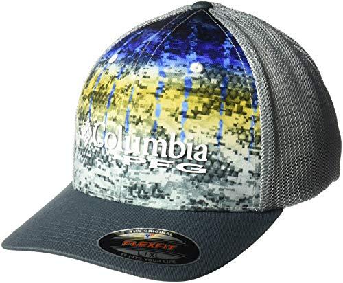 (Columbia Unisex Camo Mesh Ball Cap, Marlin Fade Camo, Large/X-Large)