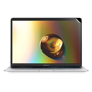 """kwmobile Protector de Pantalla cristalino para Apple MacBook Air 13"""" Retina (AB Ende 2018"""