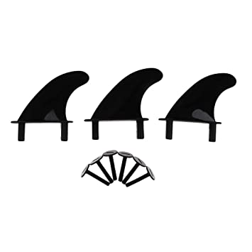 F Fityle 3Pcs Soft Top Surf Fin para Tablas de Surf Softboard y Sup Stand Up Paddle Board: Amazon.es: Deportes y aire libre