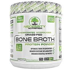 Bone Broth Protein Powder - Natural & Pu...