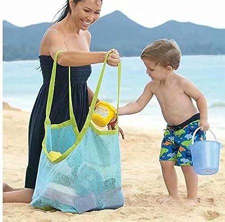 Bolso de Asas de Arena de la Playa para los Juguetes Grandes y de la Ropa, 45 x 30 x 45 cm Stonges