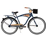 Huffy Bicycle Company Men's Panama Jack Cruiser Bike, Navy Blue, 26''/17''/One Size