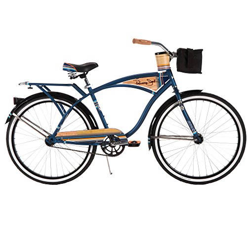Huffy Bicycle Company Men's Panama Jack Cruiser Bike, Navy Blue, 26''/17''/One Size by Huffy