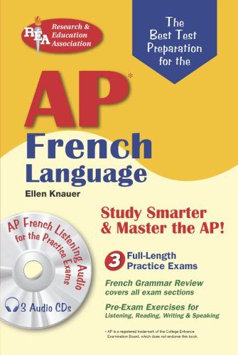 AP French Language with Audio CDs (Advanced Placement (AP) Test Preparation)
