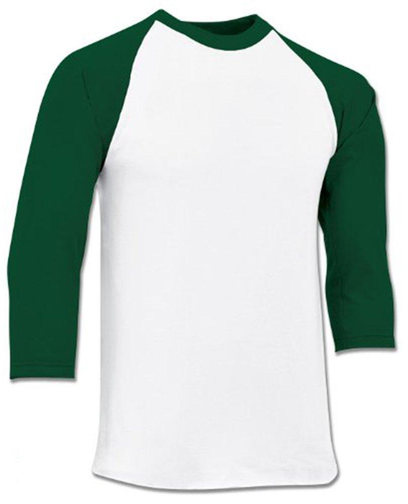 Champro 3 / 4 Sleeve Jersey bs8 B00IAUXXW4 XL|フォレスト フォレスト XL