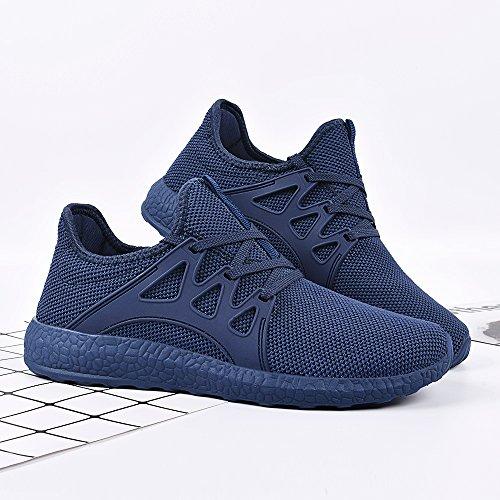Entraînement Homme Confort Sport Chaussures Basket Rouge 36 Qansi Bleu Trail Sneaker Femme De Lacet Noir 44 Chaussure Fitness Pink Running Léger Respirante F8wpqI7