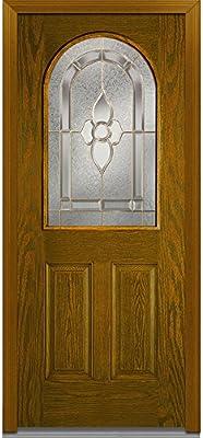 National Door Company Z001185r Puerta De Madera De Roble De Fibra