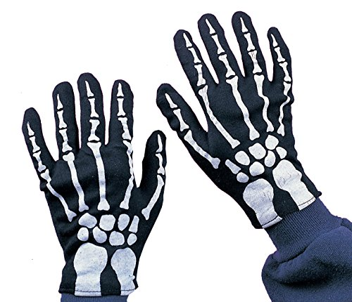 Halloween Skeleton Gloves (Rubie's Costume Co Child Skeleton Gloves Costume)