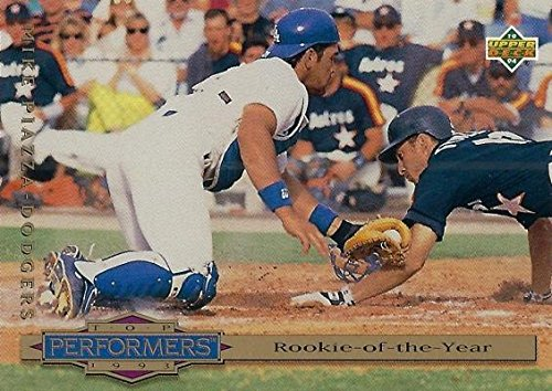 Amazoncom Mike Piazza Baseball Card Los Angeles Dodgers 1993