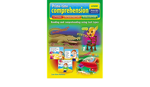 Prime Time Comprehension Middle Reading And Comprehending