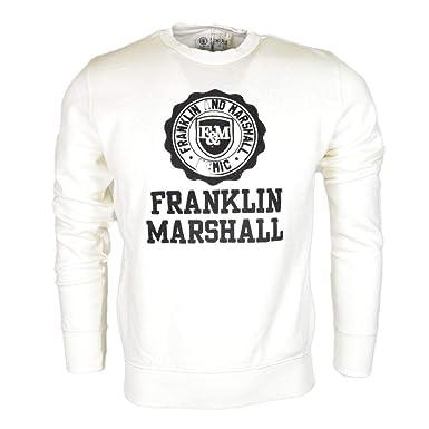 Franklin & Marshall - Sudadera - para Hombre Blanco Blanco XXL