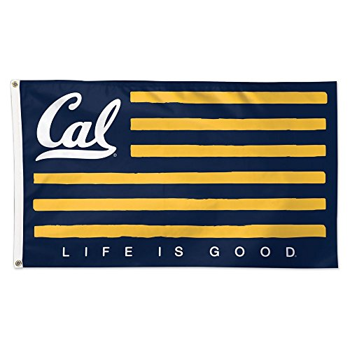 WinCraft Cal Bears Official NCAA 3' x 5' Life is Good Deluxe