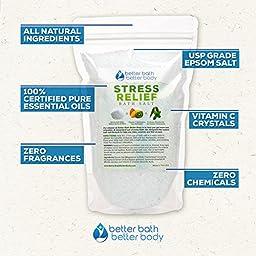 7-Pack Relaxation Bath Salt Sampler Set - Free Priority Shipping - Complete Set Of 7 One Pound Bath Salts: Deep Relaxation, Eucalyptus, Breathe, Sleep, Tranquility, Stress Relief, & Vapor Bath Salts