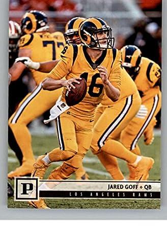 8595523c Amazon.com: 2018 Panini NFL Football #151 Jared Goff Los Angeles ...