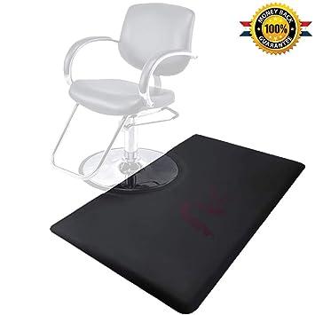 Peachy 3 X 5 Ft Salon Floor Mat Barber Shop Chair Floor Anti Fatigue Mat For Hair Styling Black Rectangle Comfort Download Free Architecture Designs Parabritishbridgeorg