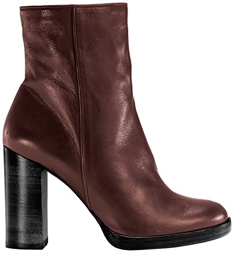 Castañer Chantal / Calf Leather - Botas para mujer Burgundy