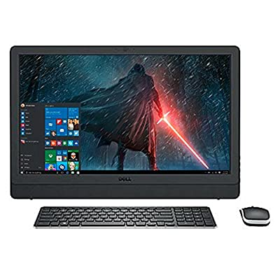 "2017 Newest Dell Business Flagship 23.8"" Full HD Touchscreen 1920x1080 All-In-One Desktop PC Intel i5-7200U Processor 12GB DDR4 RAM 1TB HDD DVD-RW Webcam HDMI Bluetooth 802.11AC WiFi Windows 10-Black"