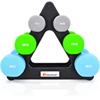 Meteor 7KG/12KG Anti-Slip Dumbbell Set Weight Home Gym Fitness Exercise Workout Training