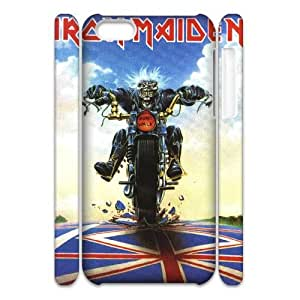 DDOUGS I Iron Maiden High Quality Cell Phone Case for Iphone 5C, Cheap Iphone 5C Case