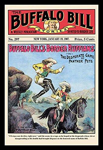 The Buffalo Bill Stories: Buffalo Bill's Border Ruffians (12x18 Paper Poster)