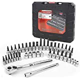 Craftsman 99941 42 Piece 1/4 and 3/8-inch Drive Bit and Torx Bit Socket Wrench Set