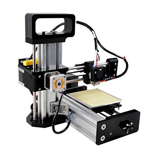 Borlee Mini01 Imprimantes 3D, Kit compact de bureau Prototype DIY Moulding Printing, Entry Level imprimante Soutien PLA/ Plastique Bois/ PLA doux/ Luminous PLA pour Windows 7 / 8 / XP / Vista / Linux / Mac
