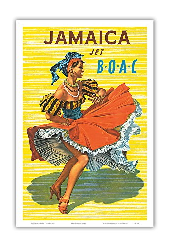 Jamaica - British Overseas Airline Corporation Jet