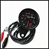 DLLL 2017 New Motorcycle Harley 12V CG125 GN125 Retro meter Refit Retro Dual Odometer Speedometer Gauge LED Backlight Turn Signal Lamp Kit with Gear Display