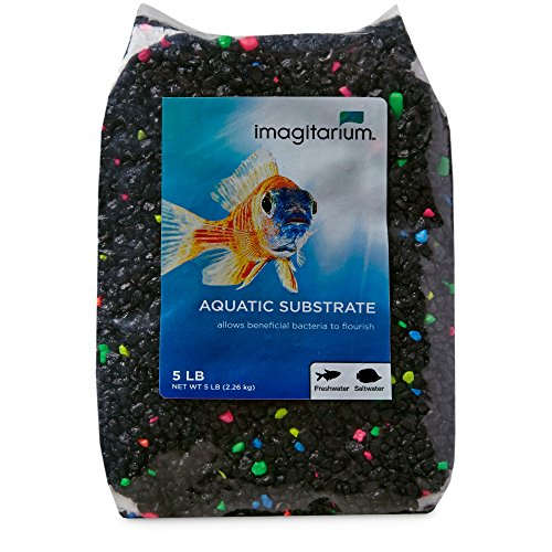 Lagoon Gravel (Imagitarium Black Lagoon Aquarium Gravel, 5 lbs)