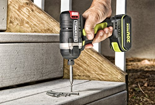 Rockwell RK2860K2 Li-ion Brushless Impact Driver, 20V by Rockwell (Image #3)