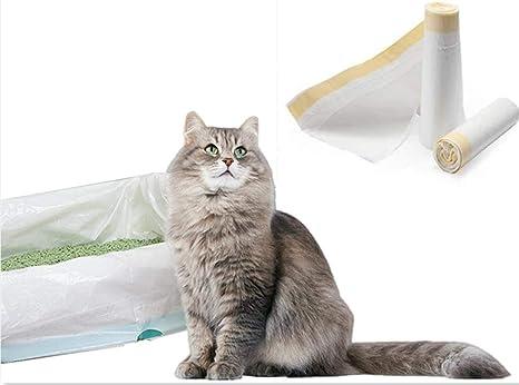 Manfâ Bolsas de Basura para Gatos 2 Paquetes (14 Bolsas), Bolsas de Basura de Prueba 8 Bolsas como Regalo (large940 * 457 * 0.032 mm): Amazon.es: Productos para mascotas