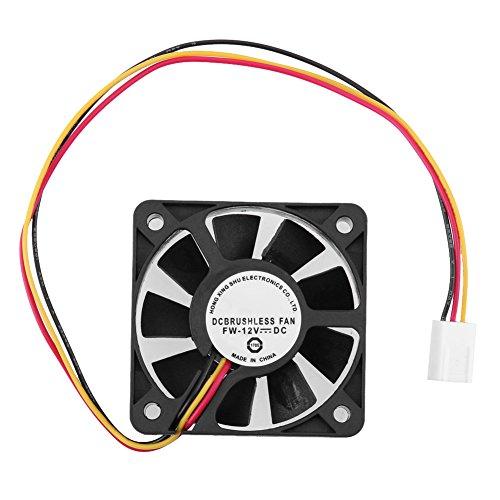 - Vanpower DC 12V 3 Pin CPU Cooling Cooler Fan Heatsinks Radiator for PC Computer 12V Single Dimension: Approx. 50 x 50 x 10mm/1.96 x 1.96 x 0.39'' (1 pc)