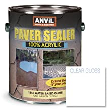 Anvil Paver Sealer Water Based 100% Acrylic Clear Medium Gloss - 1 Gallon