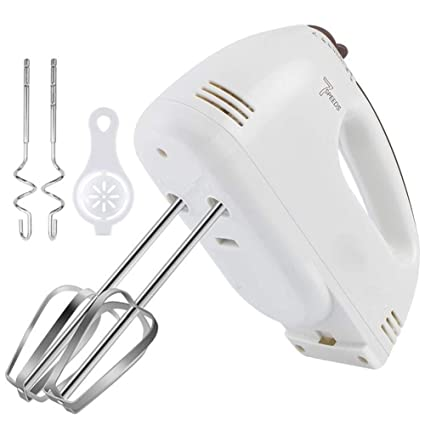 Amazon Com J Ulim Electric Egg Beater 7 Speed High Power Handheld