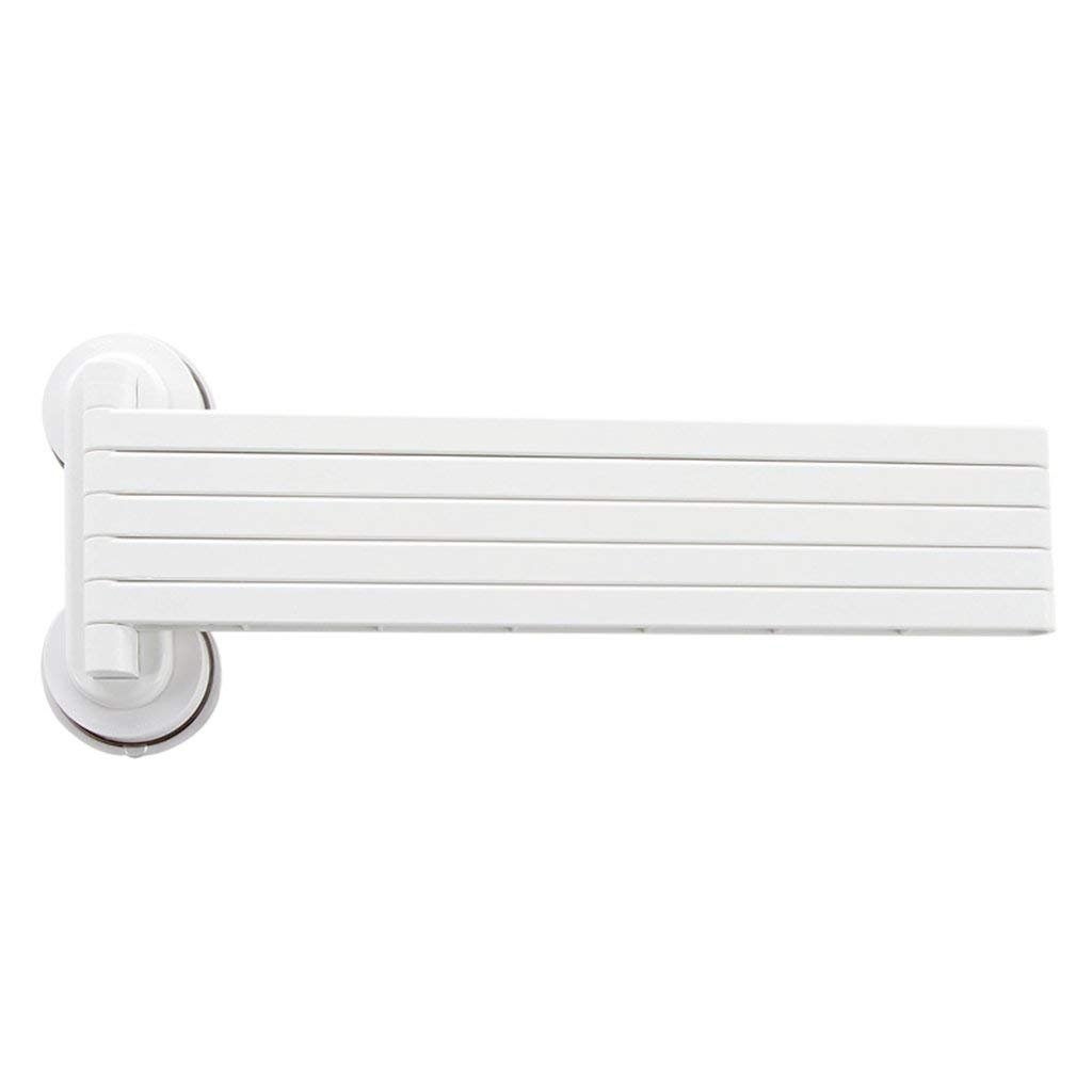 85%OFF EQEQ Free Perforated Teats Wipers Rack Towel Rack Converter Rack Toilet Bath Rooms Kitchen Racks (White Color)