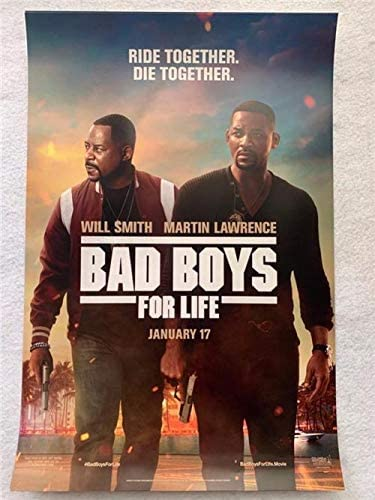 Bad Boys For Life 27 X40 Original Movie Poster One Sheet 2020 Will Smith Martin Lawrence At Amazon S Entertainment Collectibles Store