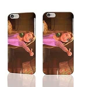 Tangled Custom Diy Unique Image Durable 3D Case Iphone 6 Plus - 5.5