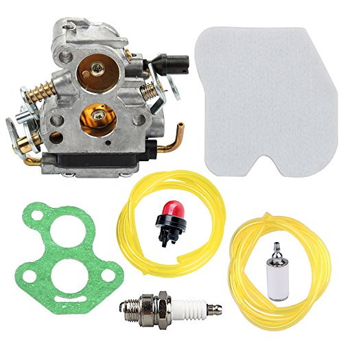 Panari Carburetor + Gasket Air Filter for Husqvarna 545072601 235 235E 236 236E 240 240E Chainsaw Jonsered CS2234 CS2238 CS2234S CS2238S