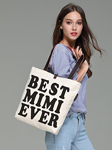 Handbags Print So'each Best amp; Canvas Women's Tote Mimi Bag Ever Beach wIvr5