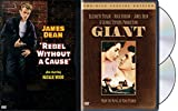 James Dean DVD Collection - Giant (2-Disc Set) & Rebel Without a Cause 2-Movie Bundle